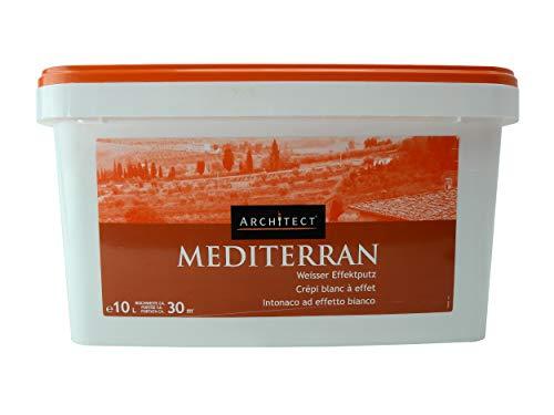 Architect Mediterran Weisser Effektputz 10 Liter. Hohe Qualität