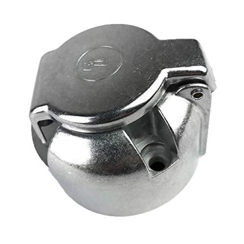 Topker Remolque 7 Clavija de Conector eléctrico de 12 V Toma eléctrica...