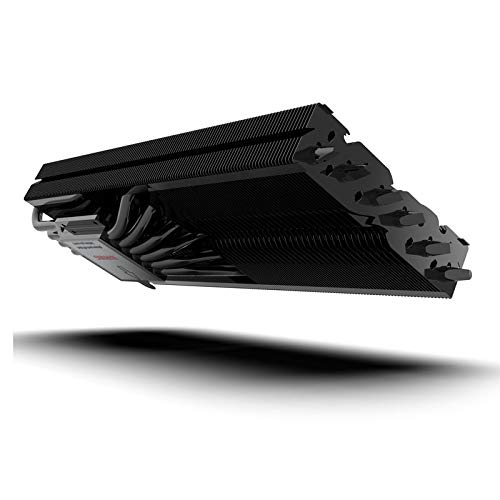 Raijintek Morpheus 8057 Heatpipe GPU Kühler - Idealer Ersatz zur Behebung von zu Lauten oder Schwachen Grafikkarte Kühler - Sowohl für AMD und Nvidia Grafikkarte - Geeignet bis zu 360 W TDP