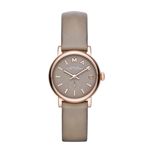 Marc Jacobs Damen-Armbanduhr XS Analog Quarz Leder MBM1318