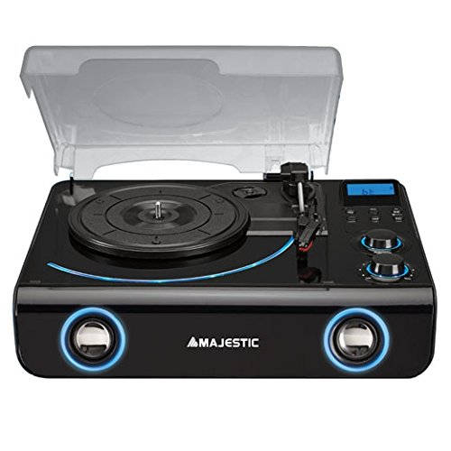 New Majestic TT-42 BT USB AX Negro - Tocadiscos (Negro, 45,