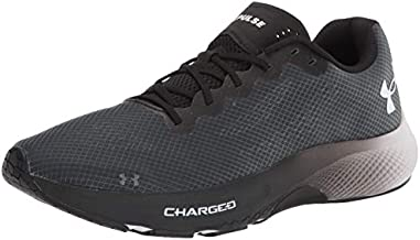 Under Armour Men's Charged Pulse Running Shoe, Black (002)/White, 7.5
