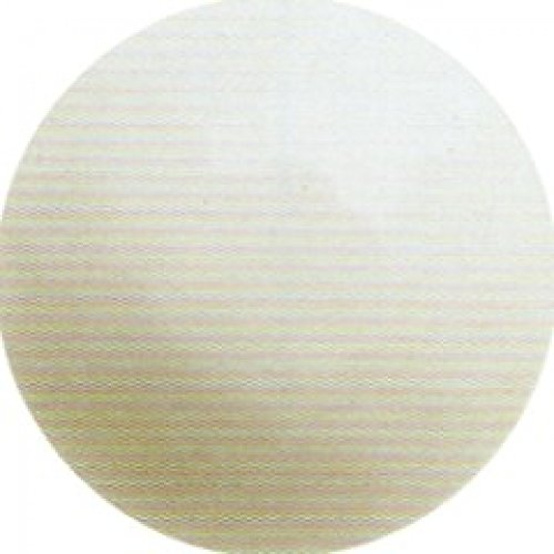 Hemline ronde à facettes boutons - 26 mm-Blanc-Lot de 3