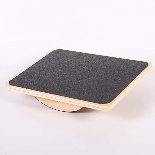 lxfy Holz Balance Board/Rocker Board/Holz Standing Schreibtischzubehör/Balancing Board für Under Desk/Anti-Rutsch-Roller/Kernfestigkeit/Stabilität/Office Wobble Boards