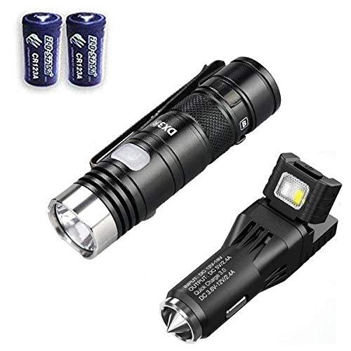 Mini Torch USB Rechargeable LED Torch Flashlight Taschenlampen Schlüsselanhänger