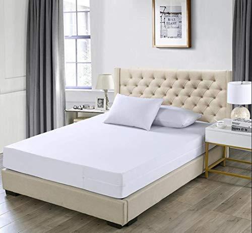 CDFD 160X200CM Matrashoes met rits waterdichte matrasbeschermer bedlaken Hotel matrasbeschermer met rits