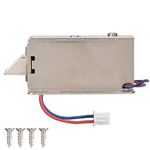 Cerradura de control eléctrico, CC 12V Cerradura de enchufe eléctrico electromagnética Cerradura...