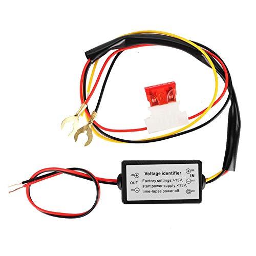 Atenuador DRL, compacto, fácil instalación, ABS, automático, práctico controlador DRL para controlador inteligente