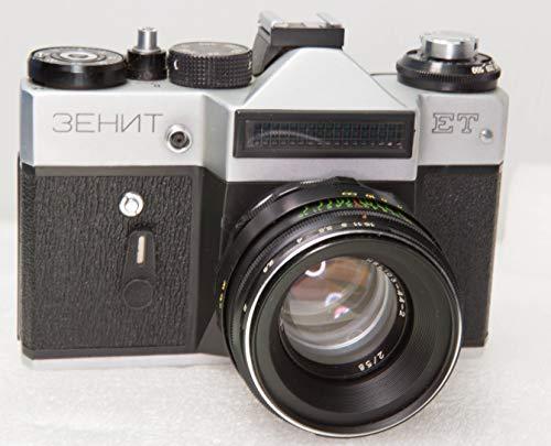 ボックス+パスポート+説明書 ZENIT ET film camera + lens Helios 44M 35mm フィルムカメラ