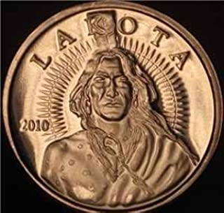 2010 Lakota 1 AVDP oz Fine Copper Rounds (Roll of 20)