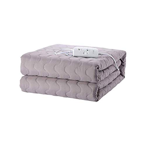 LKNJLL Electric Heated Blankets, Heating Levels, Auto-Off, Fast Heat, Home Office Use, 79' X 70'