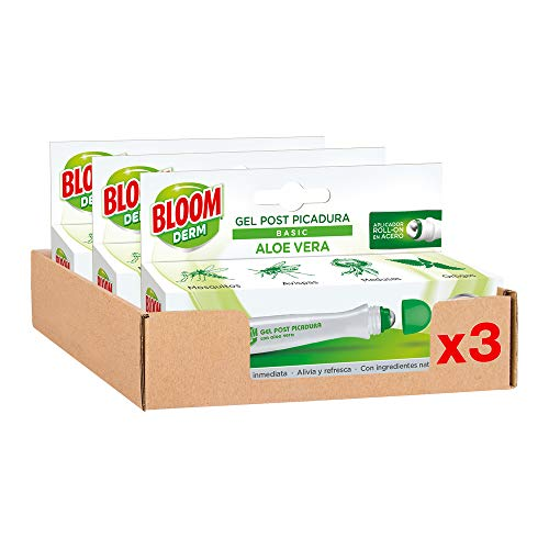 Bloom Derm Post picadura Aloe Vera 10ml - Pack de 3
