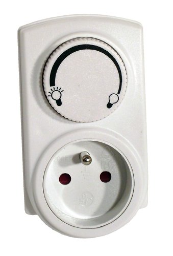 Chacon 54042 Prise dimmer 300 w-blanc