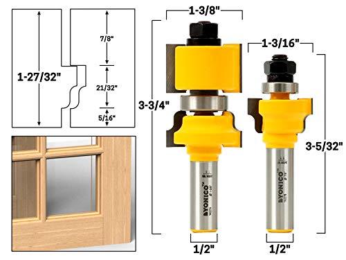 glass door router bit set - 7