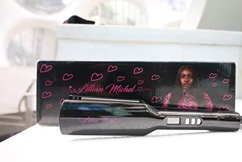 %43 OFF! Lillian Michel Professional Titanium Flat Iron | Best Hair Straightener | Straightens Curls...