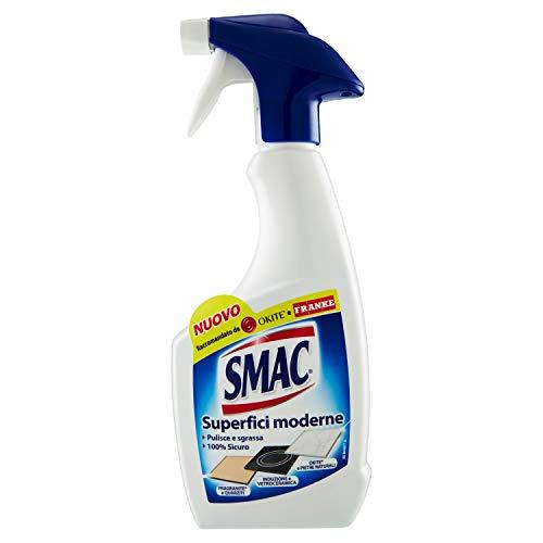 Smac Sgrassatore Spray per Superfici Moderne e Delicate, Detergente per Casa e Cucina, 500ml