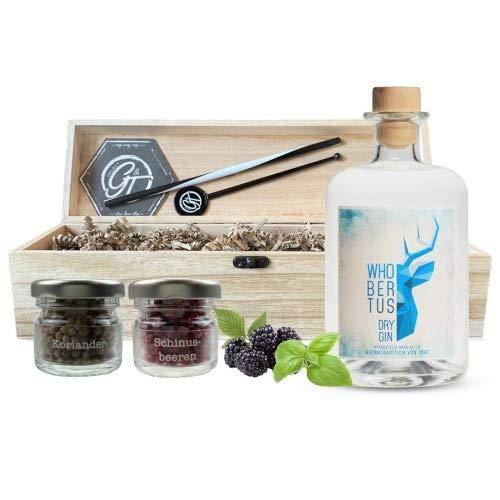 Whobertus Dry Gin & Botanical Box