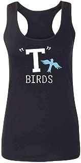 T Birds Tbird Costume Men Gang Logo Retro 50s 60s Fashion Tank Top Tee for Women