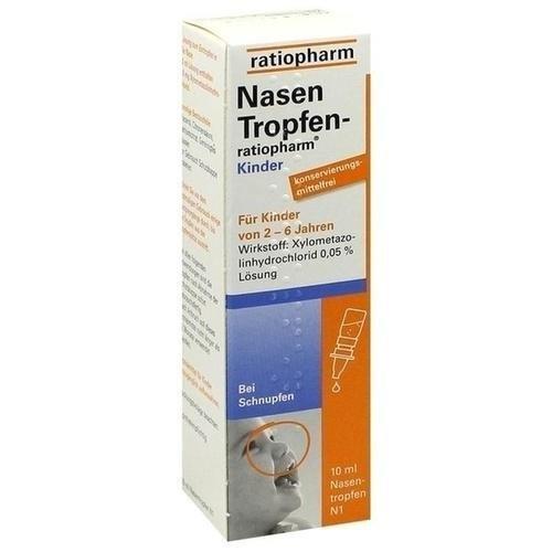 NasenTropfen-ratiopharm Kinder, 10 ml Lösung