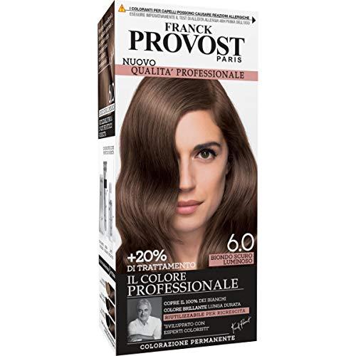 Franck Provost Colorazione Permanente per Capelli, 6.0 Biondo Scuro Luminoso