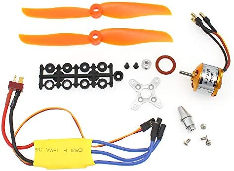S Union New Replacement 30A ESC RC 2200KV A2212 6T Brushless Motor Used for RC Plane Helicopter product image