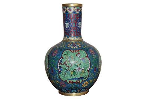 Tian Rui Yi Xiang Langer Hals Drei Line Farbe Emaille Vase