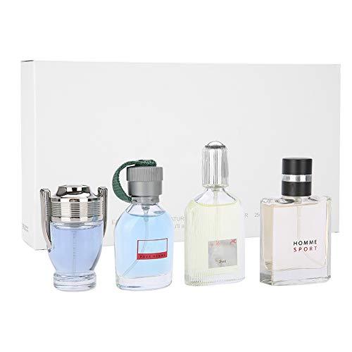 100ML 4 Pcs Perfume para hombre, Colonia Perfume Regalo Set, Fragancia