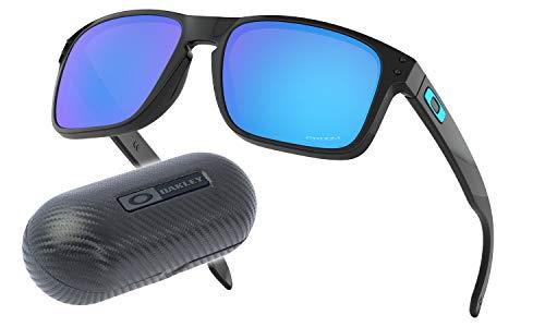 Oakley Holbrook PRIZM | Etui Carbon (Polished Black | PRIZM Sapphire | Etui: Carbon Hardcase)
