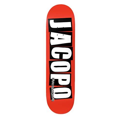 Baker Skateboard Deck Jacopo Brand Logo 8.25