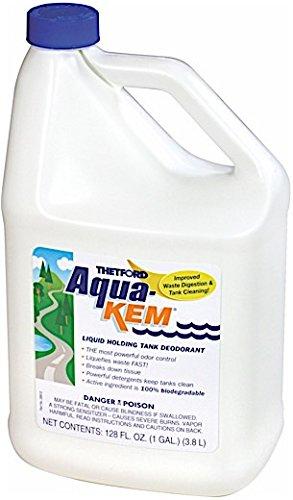 Aqua-Kem RV holding tank treatment - Deodorant / Waste Digester / Detergent - 1 gallon - Thetford 28614