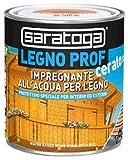 Saratoga legno prof 750ml impregnante all'acqua per legno cerato per interni ed esterni (colore...