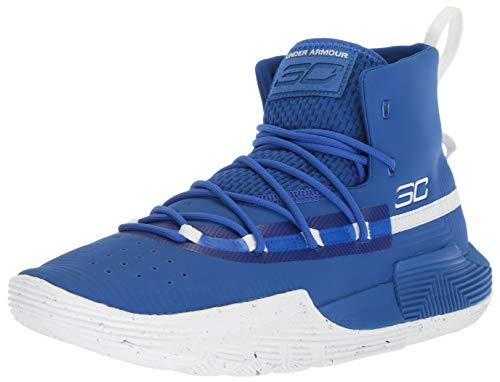 Under Armour Men's SC 3ZER0 II Basketball Shoe, Royal (400)/White, 12