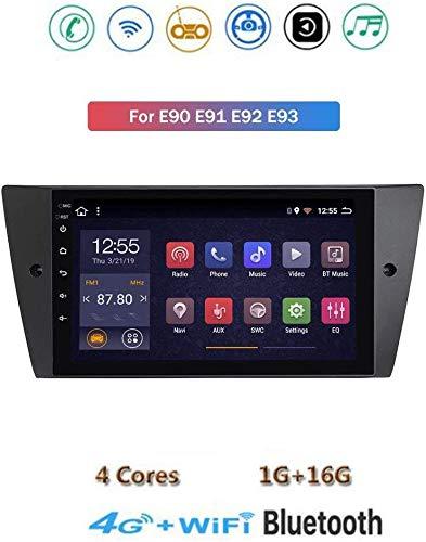 Android 8.1 GPS Navigation Stereo Radio, para BMW E90 E91 E92 E93 2005-2012, 9