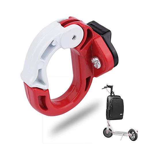 Atuka Suspensión de Garra Delantera Gancho de Metal Scooter eléctrico Gancho Delantero Suspensión de Soporte de aleación de Aluminio Rojo para Xiaomi Mijia M365