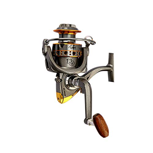 Xingkee Spinning Caña y Carrete Combos de Pesca de Altura Carbono Telescópica...