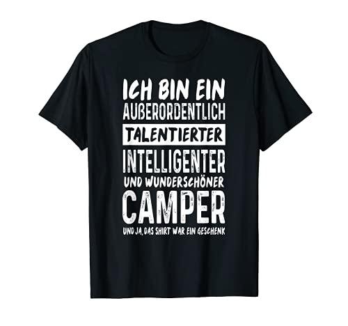 Camper Spruch Wohnmobil Natur Lustiges Camping T-Shirt