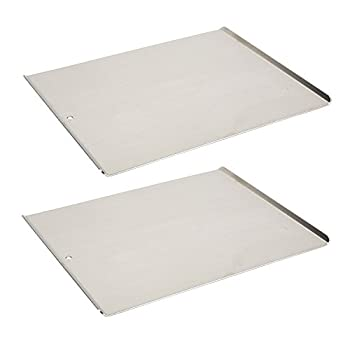 Vollrath 68085 Wear-Ever Cookie Sheet Pans Set of 2  17-Inch X 14-Inch Natural Finish Aluminum NSF