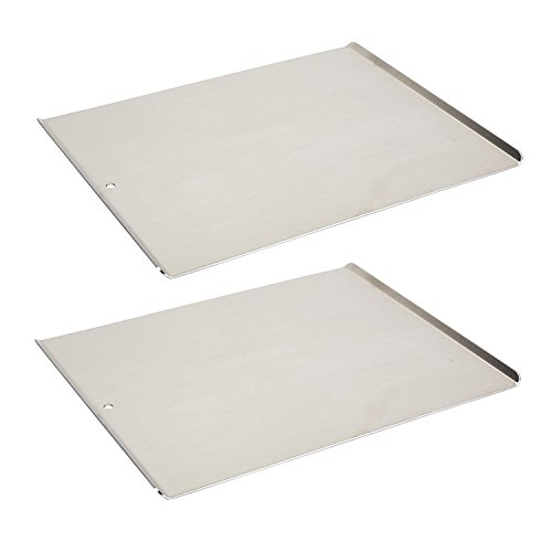 Vollrath 68085 Wear-Ever Cookie Sheet Pans, Set of two (17-Inch X 14-Inch, Natural Finish Aluminum, NSF)