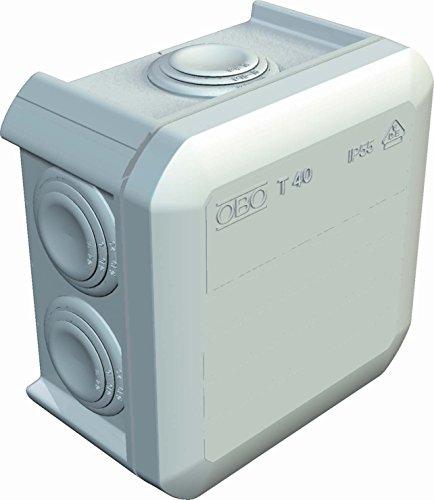 obo-bettermann System conex. IJF.–Box Abzweigkasten T4090x 90x 52mit Konus Eingang Polypropylen frei von halogenos G