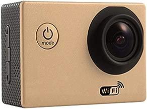Sweetichic Wi-Fi Action Camera Mini Sport Camera Waterproof 4K Wireless Intelligent HD Smart Camera External Microphone Remote Control EIS Stabilization Underwater 40M Waterproof Sport Camera