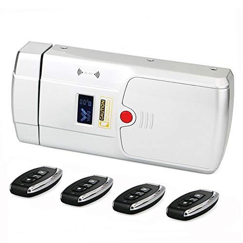Smart deurslot, ontgrendelen met vingerafdruk wachtwoord, draadloze anti-diefstal sleutelloze elektronische smart deurslot, waaronder vier op afstand,1