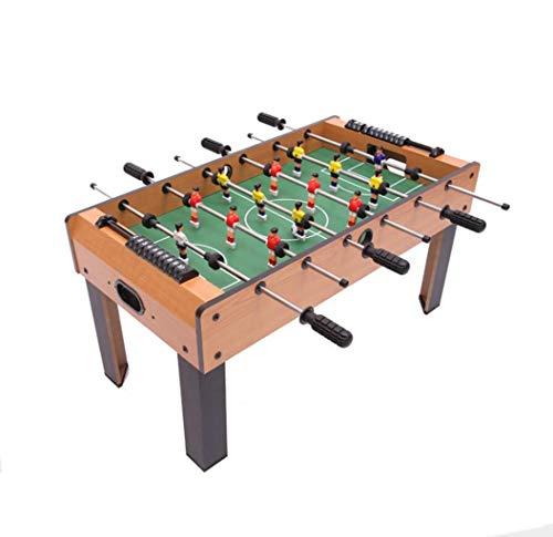 LBJYDGE Tischfußballspiel for Zwei, großes Hoch Bein Foosball Maschine, Mini Holztischfußballtisch, kann als Geburtstagsgeschenk verwendet Werden, Produktgröße: 81.5X42.5X42.5cm