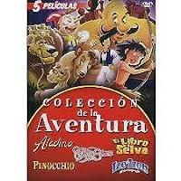 Coleccion de la Adventura 5 Movie Set [DVD]