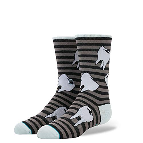 Stance B515D17TOO Boys' Tooth-Hurty Sock, Black - L