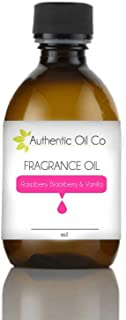 Raspberry Blackberry & Vanilla Fragrance Oil concentrate 10 ml for soap bath bombs and candles cosmetics.