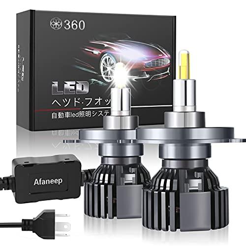 Lampadine H4 LED, 72W 16000LM Fari Abbaglianti o Anabbaglianti per Auto Kit - 36 SMD 360° Chips Nessuna Polarità Kit Lampada Sostituzione per Alogena Lampade e Xenon Luci - 2 Anni Di Garanzia