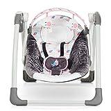 Mastela Deluxe Portable Baby Swing Toddler Swing- Pink