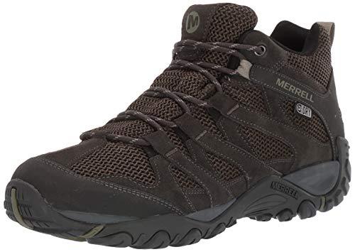 Merrell Men's ALVERSTONE MID Waterproof Hiking Boot, Olive, 9 M US