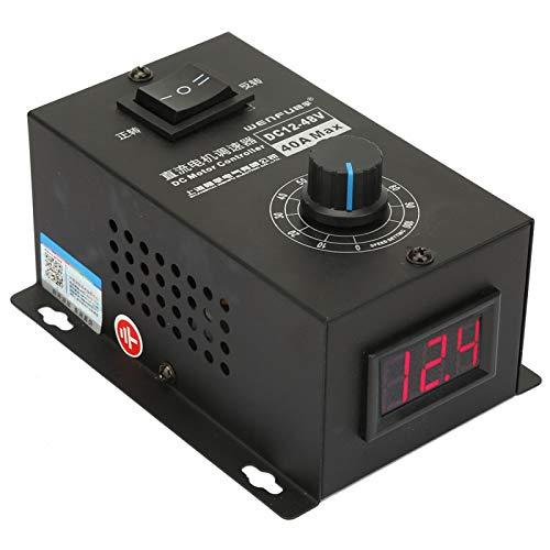 Gobernador con interruptor y perilla Control de velocidad del regulador del motor Controles del motor del cepillo para el control de velocidad del motor para la regulación del controlador