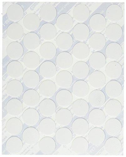 Fastcap Adhesive Cover Caps PVC, White